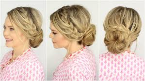 Lace Hair Style french lace braid updo prom hairstyle missy sue youtube 2180 by wearticles.com