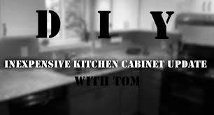 Diy Kitchen Cabinet Refacing Easy Inexpensive Diy Kitchen Cabinet Reface With Trim And Paint