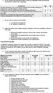2007 Survey Of Medical Toxicology Practice Improvement