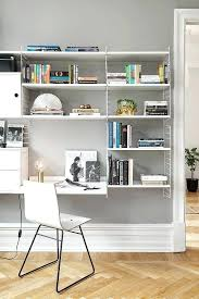 office shelving systems. Shelving Systems For Home Office Workspace Study White String System Chair Grey Walls .