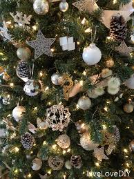 ... Beautiful Home Christmas Tree Decoration Ideas : Amazing Christmas Tree  Decoration With Silver Ornamets Nuance, ...