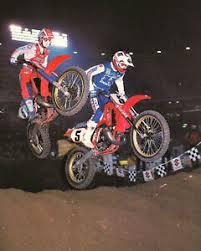 RIck Johnson Team Honda Motoross Rider 11x14 Photo #3 | eBay