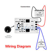 pwm dc v v v v a motor speed control new switch controller positive supply in order to protect the circuit from any possible short circuits 3 you can now control the speed of the motor through potentiometer