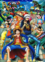 Free Shipping painting One Piece NO.7 ...