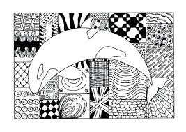 Animal Coloring Page Adult Coloring Page Hard Baby Animal Coloring