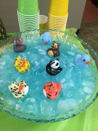Blue Punch For Baby Shower  The Big Ducky Did Great But The Blue Punch For Baby Boy Shower