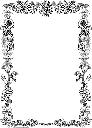 Decorative Borders For Word Frames And Borders