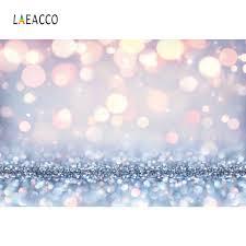 <b>Laeacco Shiny Polka</b> Dots Blue Light Bokeh Love Party Dreamy ...