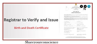 How To Make A Birth Certificate Make Birth And Death Certificate Online Share Your Conscience A