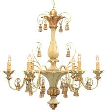 chandeliers italian chandelier picture carved wood with tassels traditional chandeliers