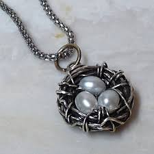 bird s nest wire wrapped pendant diy