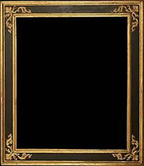 black antique picture frames. Spanish Antique Frame Carved, Black Painted And Gilded - 17th Century Picture Frames