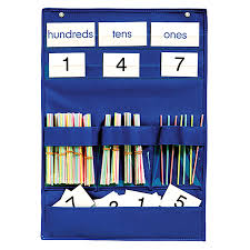 Hundreds Tens Ones Pocket Chart Pockets Charts And Organizers Education Emporium