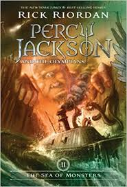 percy jackson and the olympians book two the sea of monsters cover may vary rick riordan 8601419392902 books amazon ca