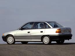 OPEL Astra Sedan specs - 1992, 1993, 1994 - autoevolution
