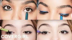 eye makeup tips how to rock colored eyeliner cover