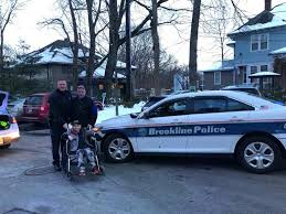 Boy Awaiting Heart Surgery Gets Special Ride From Brookline Police