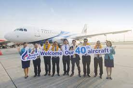 Bangkok Airways ontvangt 40e vliegtuig in de vloot - Up in the Sky