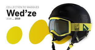 <b>Wedze</b> ski goggles collection 2018 - 2019