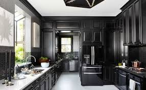 kitchens with black cabinets. View In Gallery Kitchens With Black Cabinets