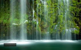 outdoor nature photography. Mossbrae Waterfall Photography Water Outdoor Nature Landscape 1080p Wallpaper - 1920x1200