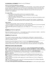 uc personal statement example essay uc college essays admission essay pinterest essay topics and