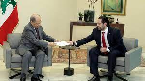 الحريري يقدم للرئيس اللبناني تشكيلة حكومية حسب مبادرتي فرنسا وبري - Sputnik  Arabic