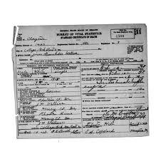 Wallace, Jim Franklin - Georgia Death Certificates - Georgia's Virtual Vault