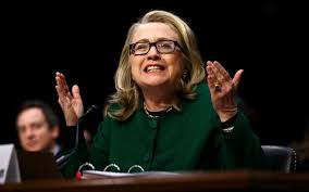 Image result for hillary clinton testifying