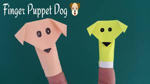 Finger Puppet Dog