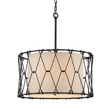 remarkable contemporary rustic wire drum chandelier shades of light also drum chandelier shades