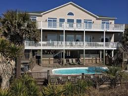 double decks with rockers over looking the entire beach