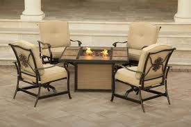 fire pit table with chairs. Fire Pit Table With Chairs N