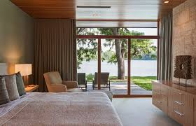 Designed Bedrooms Simple Contemporary Lakefront House In Florida Designed Trends