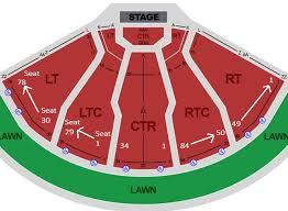 Dte Music Theater Seating Chart Dte Energy Music Theatre Seating Chart Row Seat Numbers