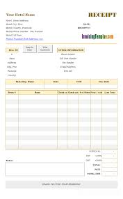 Electronic Invoice Template Hotel Invoice Template Print Result Invoice Format In