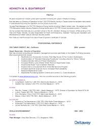 Power Plant Resume Examples Best Photos of Plant Manager Job Description Sample Plant Manager 2