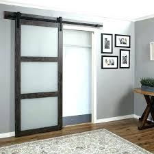 indoor barn door hardware sliding glass interior inside doors with diy w