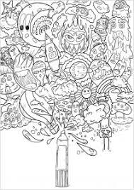 Art Doodle Doodle Art Doodling Coloring Pages For Adults