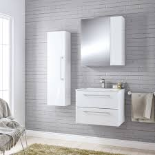 Glamorous Cooke Lewis Paolo Bodega Grey Furniture Pack Departments DIY In B  Q Bathroom Cabinets ...