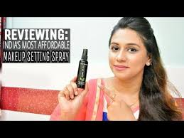 reviewing india s most affordable makeup setting spray kiss beauty makeup setting spray review