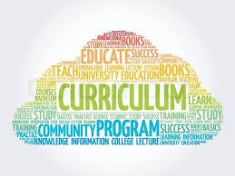 Curriculum Word Curriculum Word Cloud Education Stock Vector Colourbox