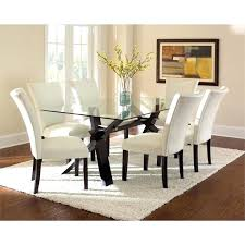 glass table sets stunning glass top dining table sets 6 room architecture glass dining table sets