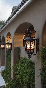 10 photos gallery of decorating with tuscan outdoor lighting