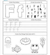 abc worksheets letter f 250x272