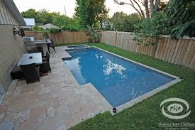 Designs for Small Spaces traditional-pool