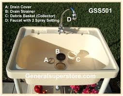 Outdoor Kitchen Sink Station A1 Outdoor Portable Sink Full Size Water Station Camp