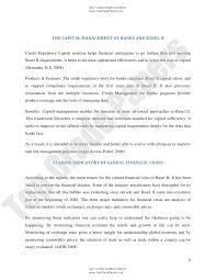 essay the relevance of basel ii capital adequacy framework in the aft  topgradepapers com 4