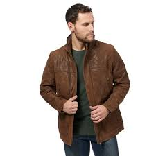 barneys jackets men big and tall brown leather jacket
