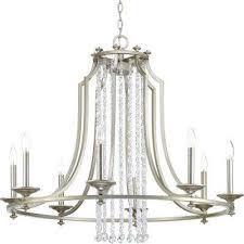 desiree collection 8 light silver ridge chandelier